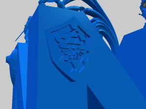 The Hylian Shield decor