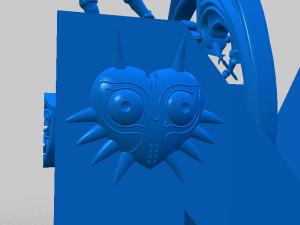 The Majora's Mask Decor