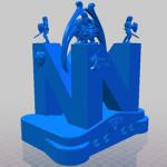3D Print: Zelda N64 Shrine with statues