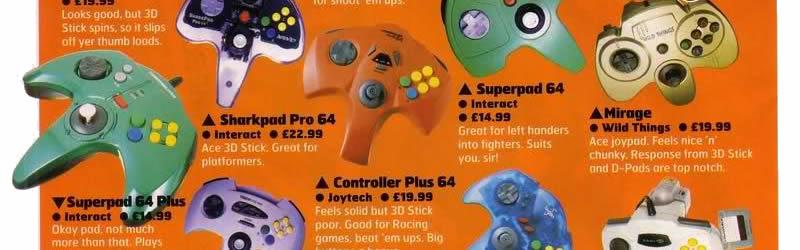 3rd party Nintendo 64 controller