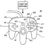 Nintendo 64 patent: Rumble pak