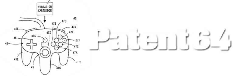 Nintendo 64 patent controller