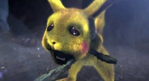 Pikachu from the video