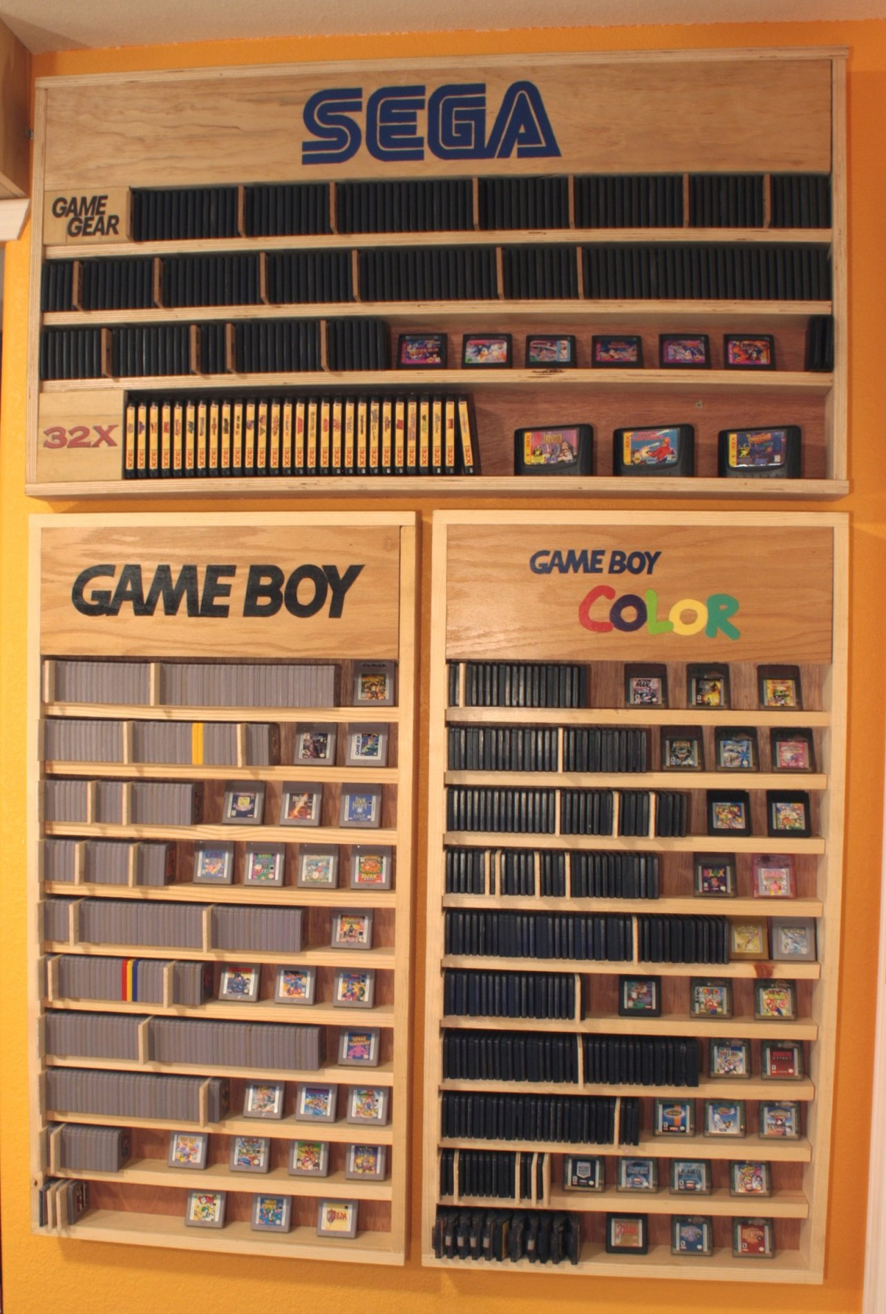 Game Collection With Custom Furniture N64 Squid