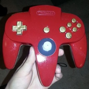 The finished controller