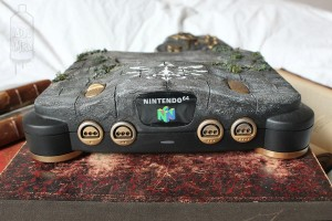 The front of the N64 Zelda mod