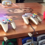 Nintendo 64 table – a N64 mod in a wooden table