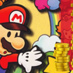 Get bonus coins for downloading Paper Mario
