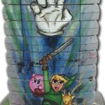 Nintendo 64 cartridge art by Mike Vetrone