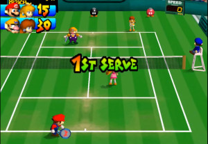 Mario Tennis looking awesome