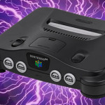 Nintendo 64 struck by lightning