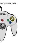 Deviantart.com: N64 Controller by doodlegarmander