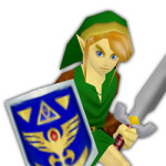 A Link to the Past, now drawn N64 style