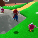 Super Mario 64 HD is started – and subsequently deleted.