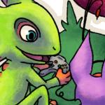 Deviantart.com: Yooka-Laylee play N64 by Chari-Artist