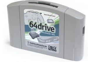 The 64drive cartridge.