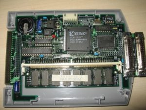 The IS-Viewer 64 circuit board
