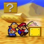 Paper Mario reward block glitch
