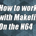How to write a makefile for the N64