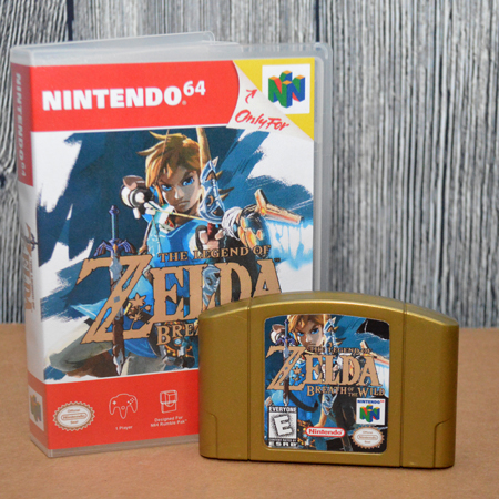 Fan-made N64 Breath of the Wild Cart