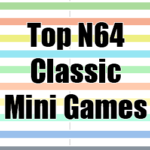 Top N64 Classic Mini games, according to top games lists