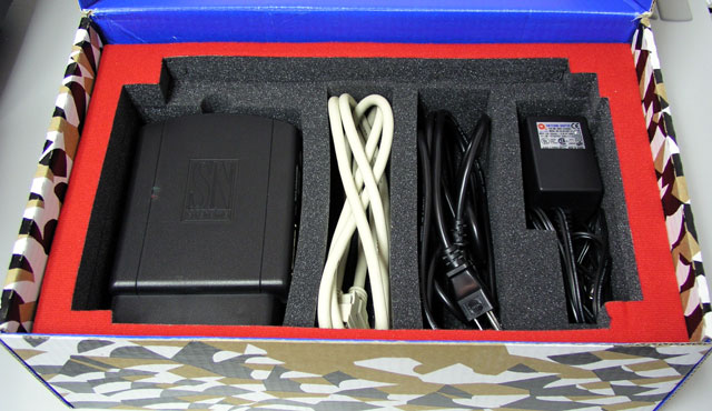 SN Systems dev kit in the box