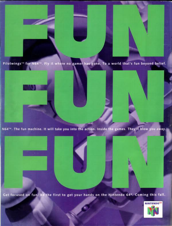 N64 FUN launch advertisement