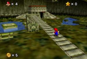 Kokiri bridge Mario