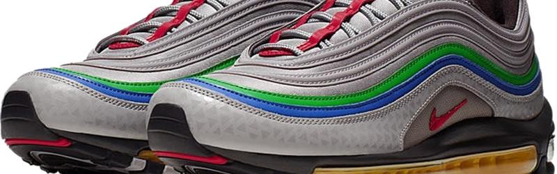 Contorno Típicamente llamada  N64 trainers by Nike: The Air Max 97 - N64 Squid