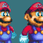Deviantart.com: If 2D Mario continued onto the N64 by SpencerEX