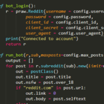 Random programming project: Reddit reposting bot